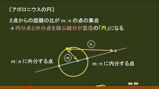 〔高校数Ⅱ・図形と方程式〕アポロニウスの円 -オンライン無料塾「ターンナップ」-