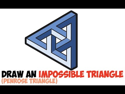 How to Draw an Impossible Triangle Easy Step by Step Celtic Knot Complex for Beginners
