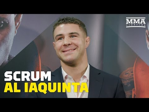 Al Iaquinta Rips Conor McGregor For Tapping In Khabib Nurmagomedov Fight - MMA Fighting