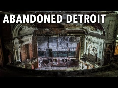 Abandoned Historic National Theater - Detroit, MI | ADULT THEATER & BURLESQUE SHOWS