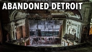 Abandoned Historic National Theater - Detroit, MI   ADULT THEATER & BURLESQUE SHOWS