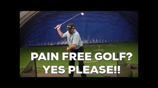 golf lower back pain