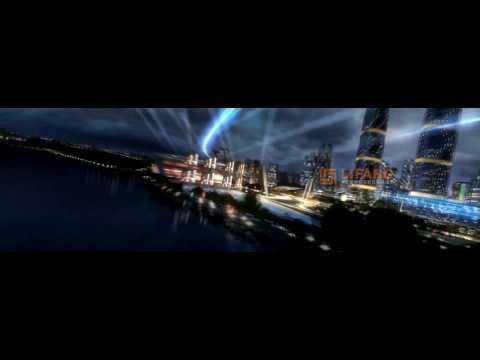 Mixed Use Master Plan Development 3D CGI Tower Flythrough