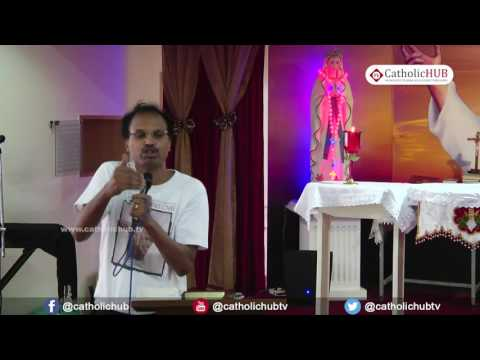 """Heaven and Hell"" by Bro.Srinivas-Youth Retreat @Logos Retreat Centre,Bangalore,KA. 13-05-17"