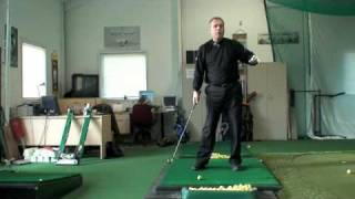 How to Repeat Your Practice Swing with Ball; #1 Most Popular Golf Teacher on You Tube Shawn Clement
