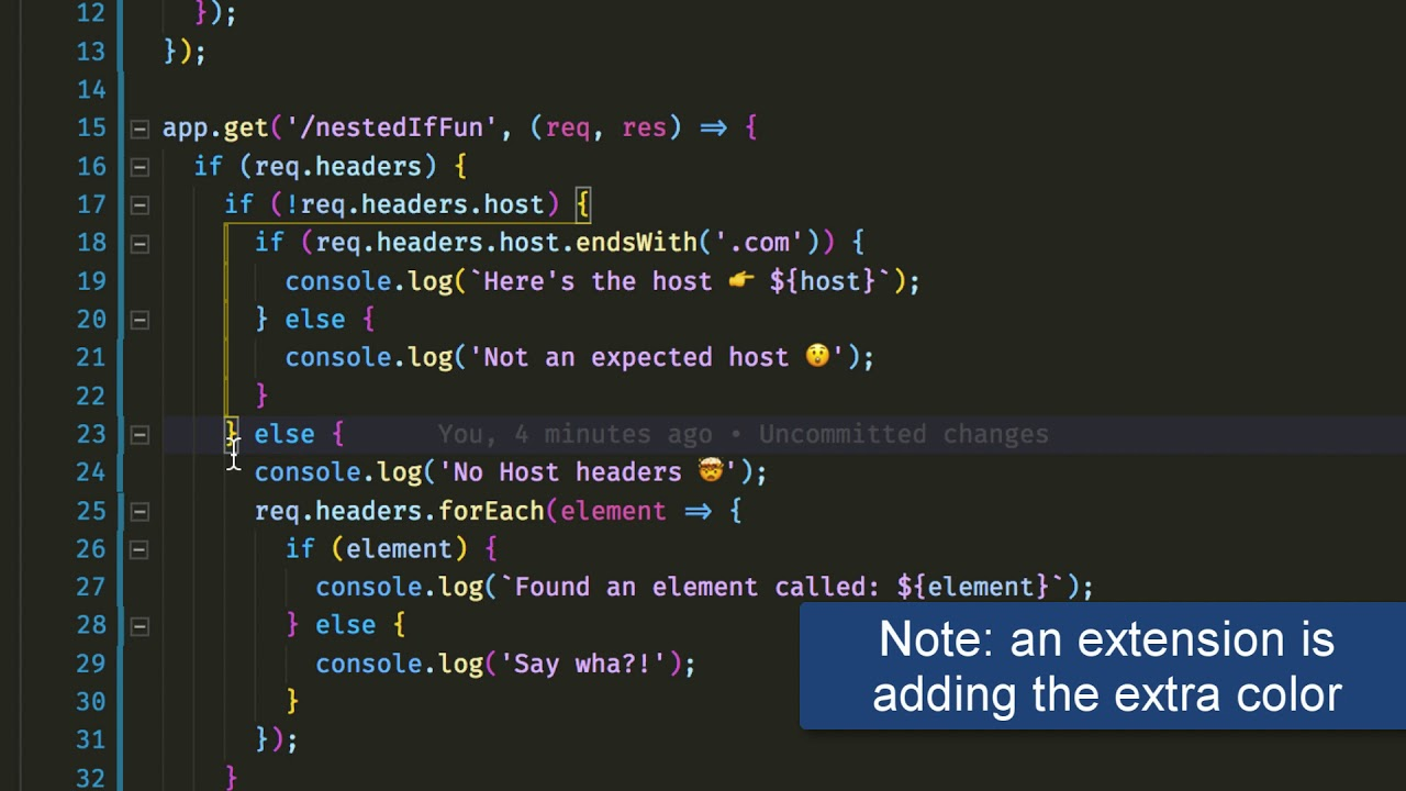 Vs Code Select Line Shortcut Vs Code Tips Highlighted Indent Guides