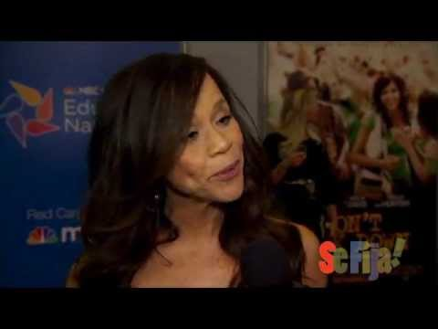 "Rosie Perez on the red carpet at ""Won't Back Down"""