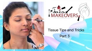 Tissue Tips & Tricks Part 3 || Learn How To Make A Wing On Your Eye || The Cloakroom Thumbnail