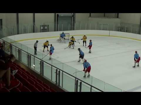 Waxers vs Red Wings 15 Apr 17 Exhibition P2