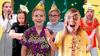 Самый УЖАСНЫЙ День Рождения! Почему друзья в ШОКЕ? - Мы семья школа