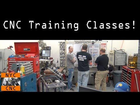 CNC Training Classes - YouTube
