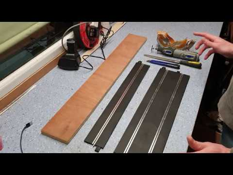 HOW TO: Cut Scalextric Sport track – Part 1 Straight