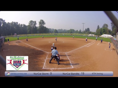 NorCal Storm vs. NorCal Bandits - 2017 18A Fastpitch National