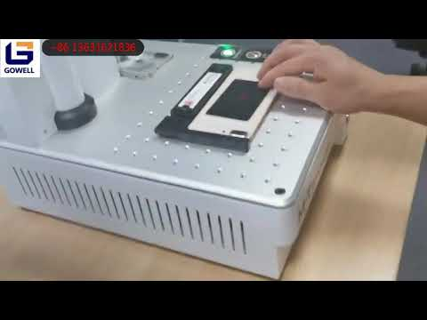 Laser machine phone refurbishing How to make simple engraving-From Gowell