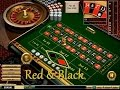 Red and Black color strategy on roulette.