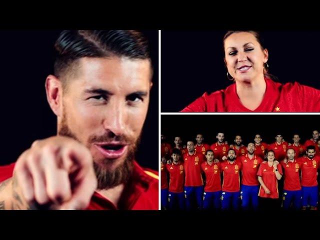 sergio-ramos-ft-nina-pastori-la-roja-baila-himno-oficial-de-la-seleccion-espanola-uefa-euro-2016-the