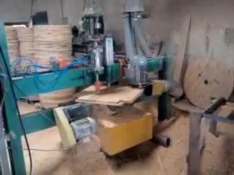 Maquina de fazer bobinas youtube for Que se necesita para criar tilapias