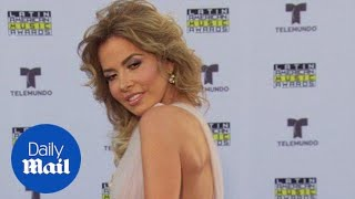Gloria Trevi arrives at the 2017 Latin American Music Awards - Daily ...