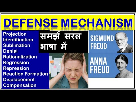 Defense Mechanisms I Defense Mechanism In Hindi Youtube