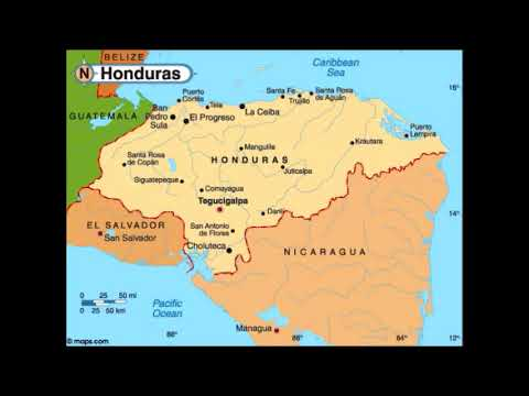 Spanish Speaking Countries & Capitals - Mexico & Central America