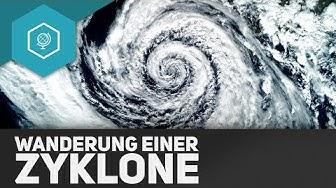 Wanderung einer Zyklone - Durchlauf einer Zyklone 2 ● Gehe auf SIMPLECLUB.DE/GO