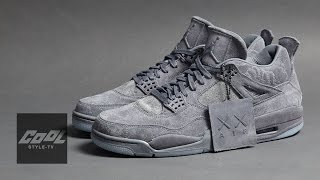 KAWS x Jordan 4 First Look ! Jordan 聯名 KAWS 鞋履實鞋開箱 │CooL UNBOXING
