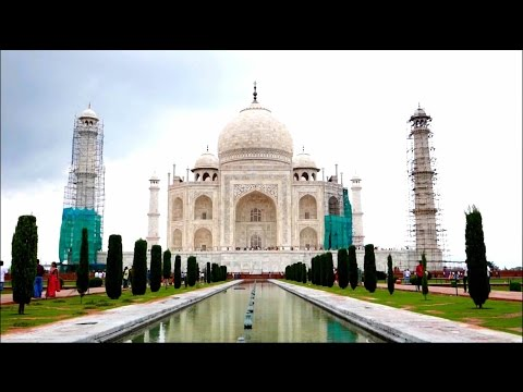 Taj Mahal - World Wonder in Agra - Trip From New Delhi - India
