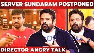 """Who knows all this …"" -Director Anand Balki Angry Speech I Santhanam"
