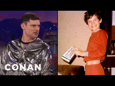 flula borg s favorite german candy growing up conan on tbs youtube