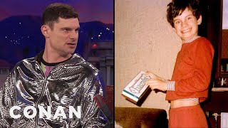 Flula Borg's Favorite German Candy Growing Up  - CONAN on TBS