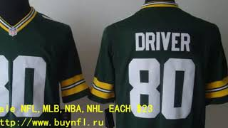 Green Bay Packers 80 Graham Cheap NFL Jerseys China From buynfl.ru Only $23 Wholesale Price