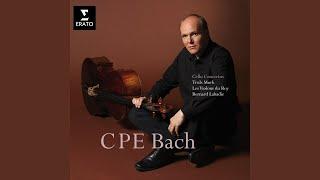 Cello Concerto Wq.171 in B flat major: Allegretto