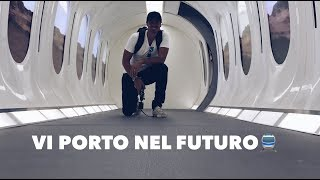 Vi porto nel futuro con Hyperloop
