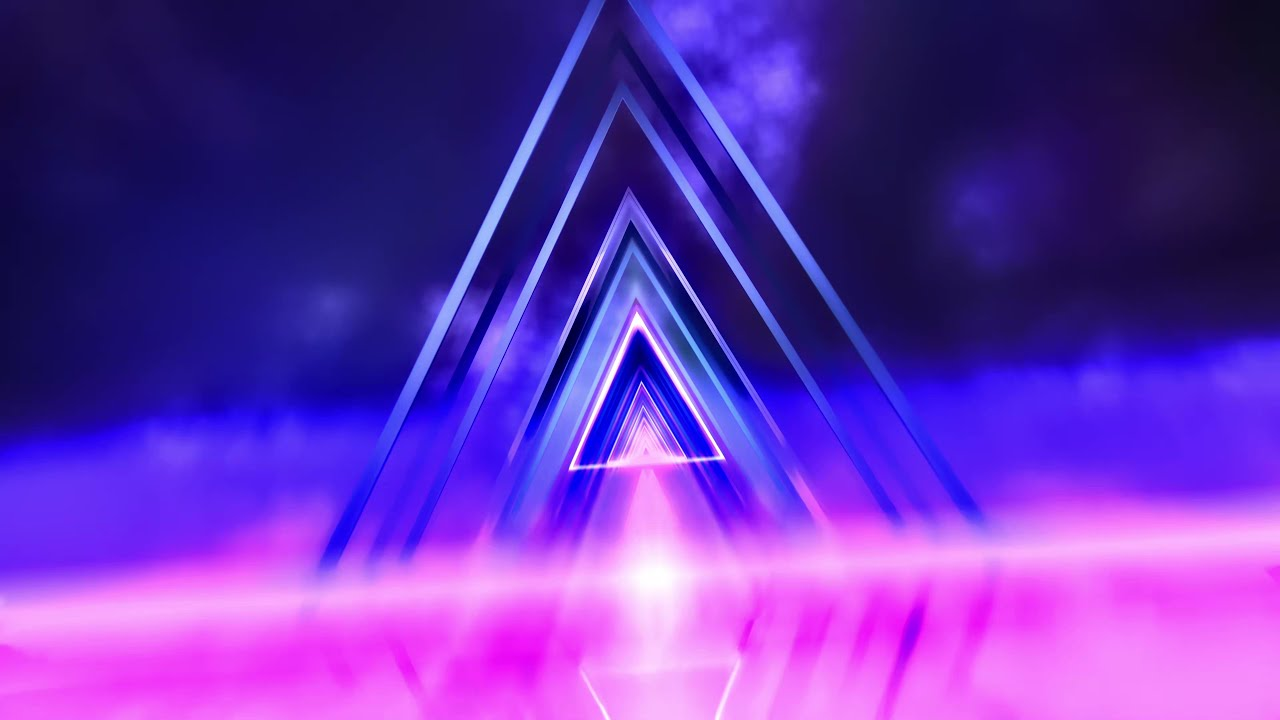 Retro Neon Tunnel Animation ▲ 4K Animated Motion Graphics ▲ 80's Style Backgrounds