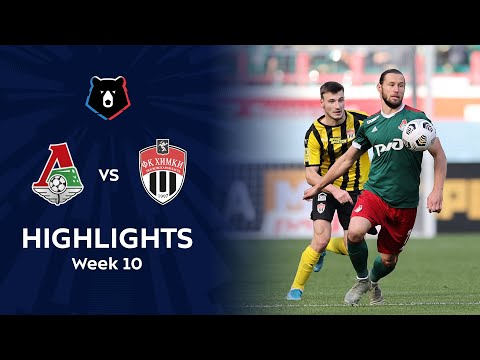 Lokomotiv Moscow Khimki Goals And Highlights