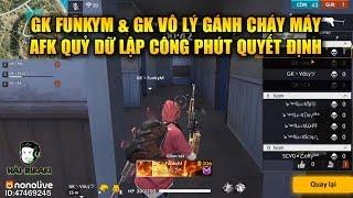 Free Fire | GK FunkyM và Vô Lý Gánh Team Cháy Máy - AFK Quỷ Dữ Lập Công Lớn | Rikaki Gaming