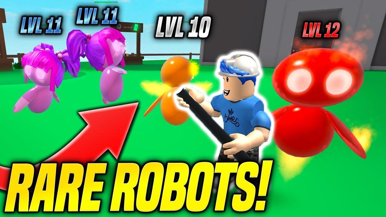 Roblox Robots Getting Rare Robot Pets In Robot Simulator Insane Roblox Youtube