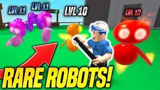 GETTING RARE ROBOT PETS IN ROBOT SIMULATOR!! *INSANE* (Roblox)