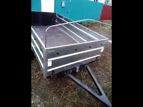 видеоотзыв о прицепе Титан 2513 05 из г  Туймазы