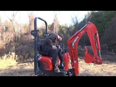A Look And A Tryout Of The New Kubota 008 Mini Excavator