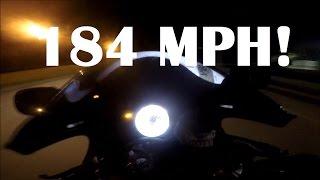180 MPH Drag Racing!  2015 Hayabusa, 2006 zx10r, 2007 zx10r