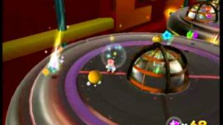 Super Mario Galaxy - Luigi under the Saucer