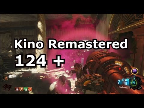Kino Remastered 124+ Strategy (local no megas) Black Ops 3 Zombies Chronicles