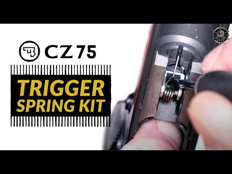 CZ 75 Trigger Spring Kit - Custom CZ 75 Trigger Job W/ M*CARBO CZ 75 Accessories