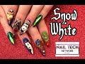 Disney's Snow White inspired nail art with Nixxi Rose