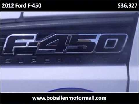 2012 ford f 450 used cars danville ky youtube for Bob allen motor mall used cars