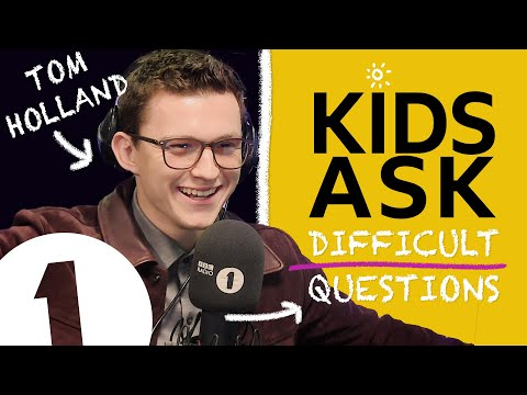 'Marvel don't know that yet!': Kids Ask Tom Holland Difficult Questions