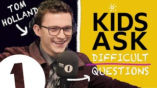 """Marvel don't know that yet!"": Kids Ask Tom Holland Difficult Questions"