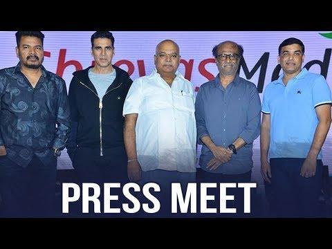 2.0 Press Meet | #2Point0 | Rajinikanth | Akshay Kumar | AR Rahman
