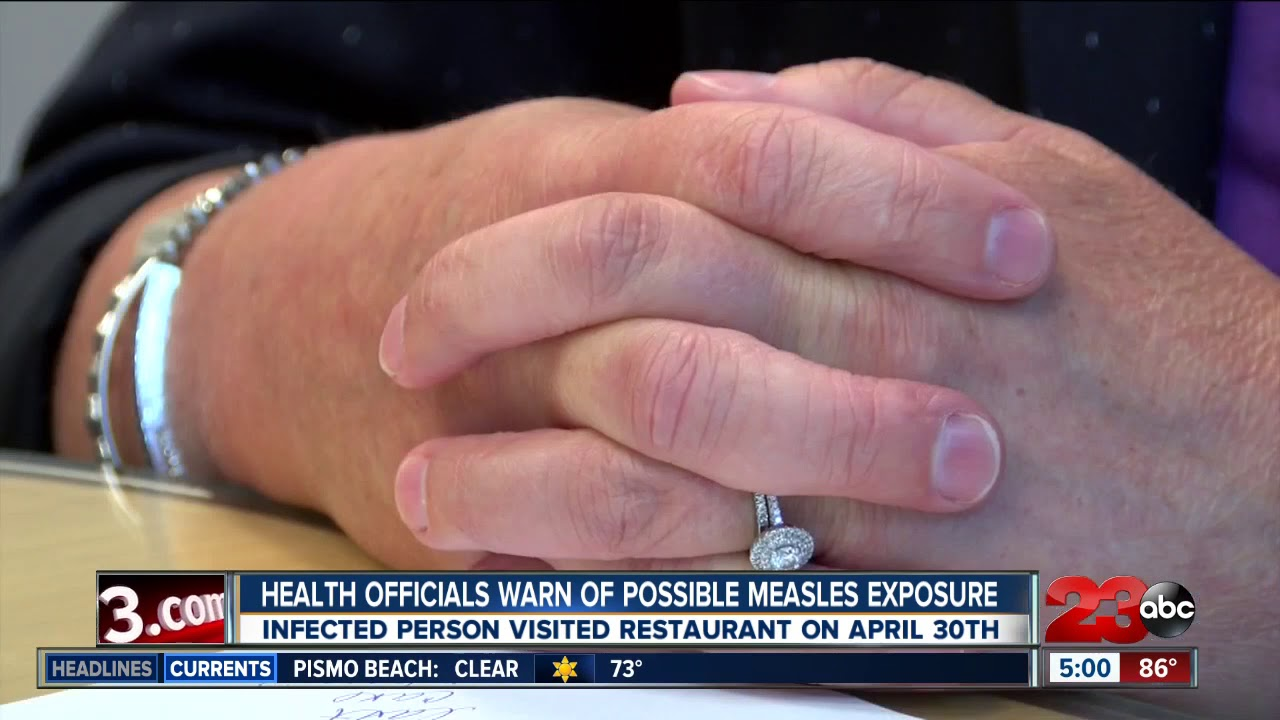 Health officials warn about potential exposure to measles in Arizona